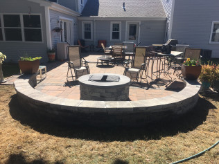 patio installation new bedford ma